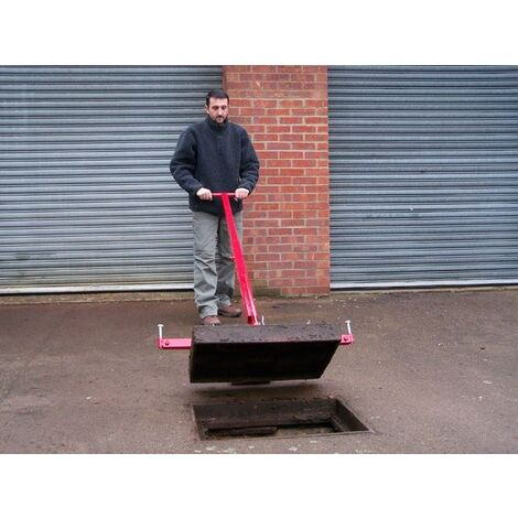 Mustang Pivot Lift Manhole Cover Lifter