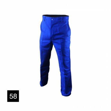 MUZELLE-DULAC New Pilot Work Pants - Blue - Size 58