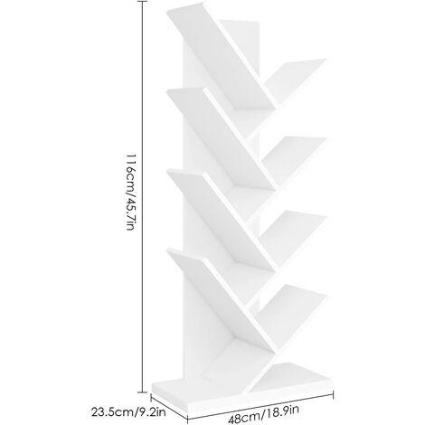 MVPOWER Meuble de Rangement Jouets Etagère de Jouets de 3 Etages pour Jouets Chambre d'enfant Homfa
