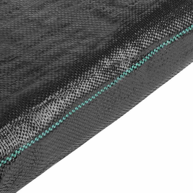 Telo Pacciamatura, Telo Anti Erbacce 2m x 10m, Peso 100 g/m² Telo Anti Erbacce, Super Resistente, Telo G