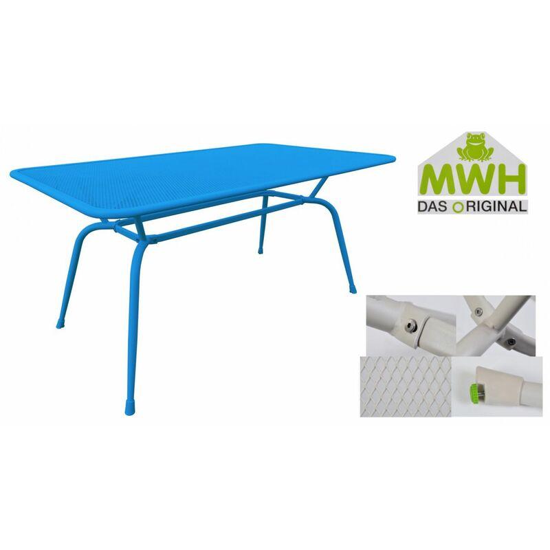 Gartentisch Conello 160x90x74cm Streckmetalltisch Balkon Terrasse ELOTHERM® - MWH