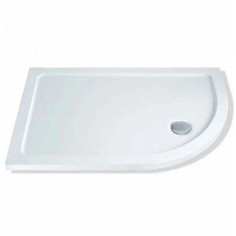 Mx Elements Offset Quadrant Flat Top Shower Tray