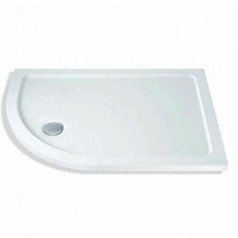 """main image of """"Mx Elements Offset Quadrant Flat Top Shower Tray"""""""