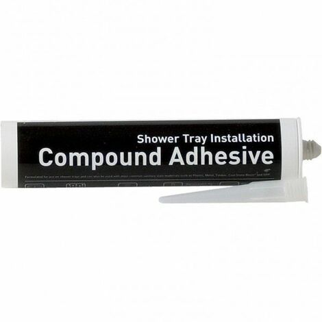 MX Shower Tray Installation Compound Adhesive Quick Drying Waterproof 310ml