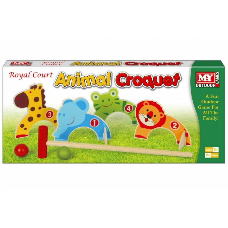 Image of M.Y Animal Croquet Game