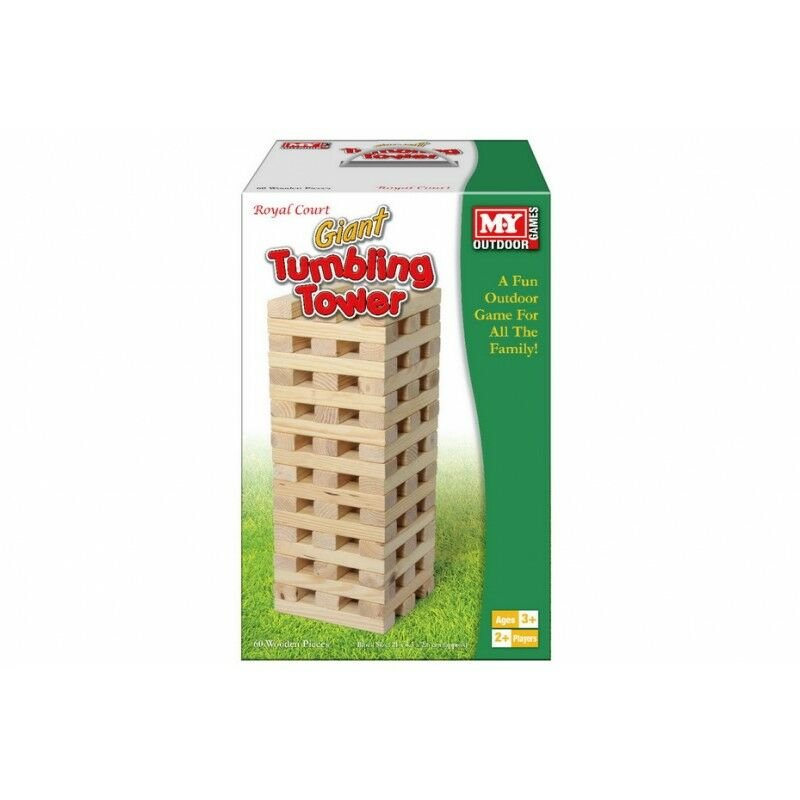 Image of M.Y Giant Wooden Tumbling Tower 60 Piece