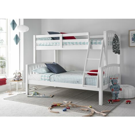 "main image of ""Mya Triple Sleeper White With Memory Foam Mattresses"""