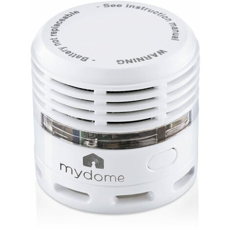 Mydome Smoke alarm and Fire Alarm | Thermally Enhanced Optical Smoke Detector Built For Quick Smoke Detection and Early Fire Prevention 10 Year Battery (Helsinki)