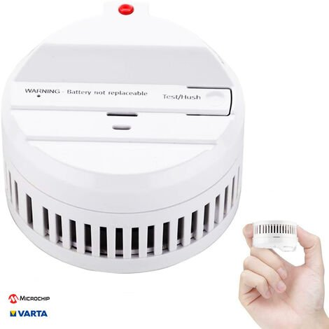 Mydome Smoke alarm and Fire Alarm | Thermally Enhanced Optical Smoke Detector Built For Quick Smoke Detection and Early Fire Prevention 10 Year Battery (Montréal)