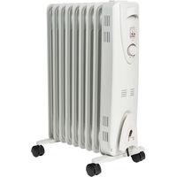 Mylek Oil Radiator with Thermostat