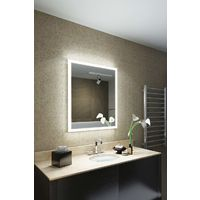 Myna Shaver Edge LED Bathroom Mirror with demister pad & sensor k1417i