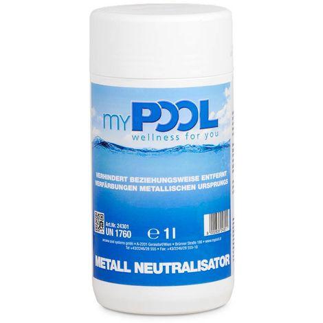myPOOL Metall Neutralisator 1,0 l