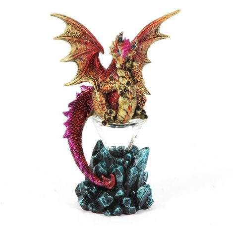 Mystic Legends Pink Dragon Sitting