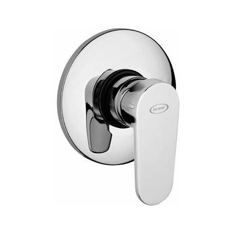 Mzclador para ducha empotrado Jacuzzi Alba 0LB00410JA00 | Cromo - 1 SALIDA