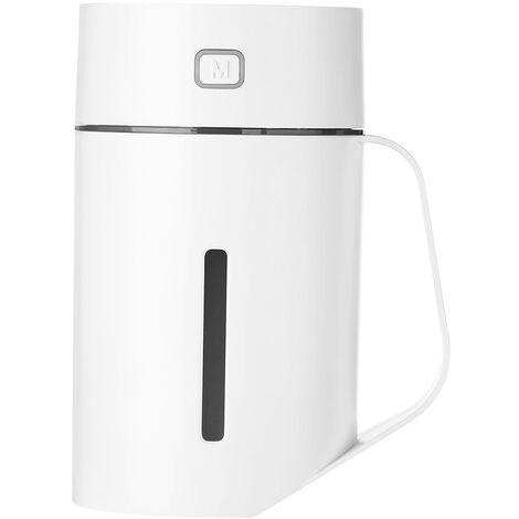 N ¡ã 1 tasse LED humidificateur USB Home Office Spray purificateur d'air grande capacite humidificateur 420 ml blanc et avec batterie
