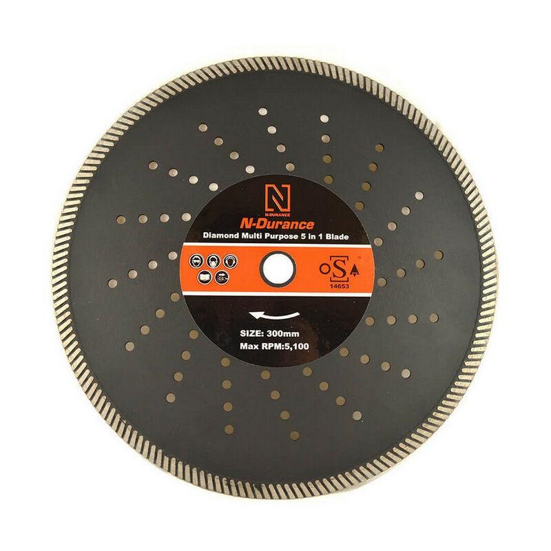 Image of N-Durance Diamond Multi Purpose 5 in 1 Blade 350 x 25.0mm