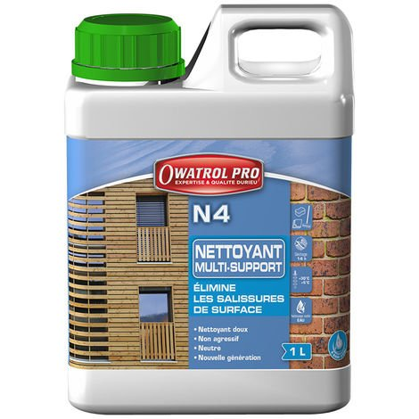 N4 : nettoyant dégraissant tous bois - 10 L - Owatrol