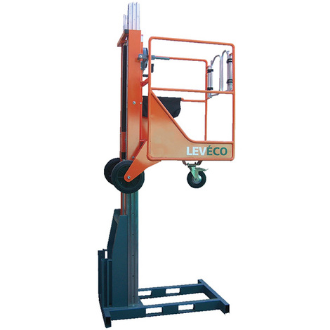 Nacelle verticale manuelle - Hauteur de travail max 4.9m (plusieurs tailles disponibles)