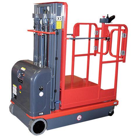 Nacelle verticale motorisée - Hauteur de travail max. 6.5m (plusieurs tailles disponibles)