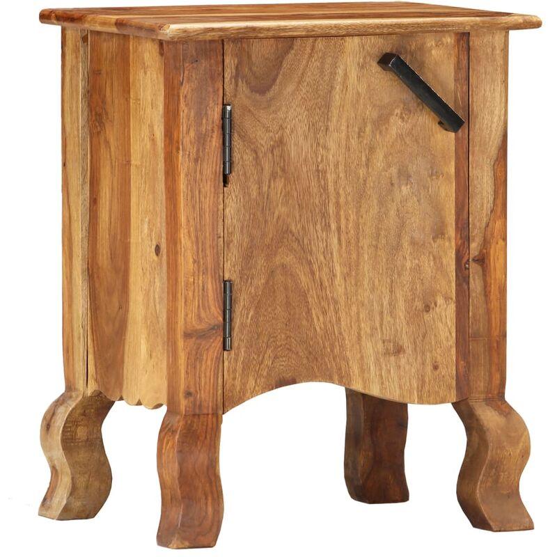 Nachttisch 40×30×50 cm Massivholz - ZQYRLAR