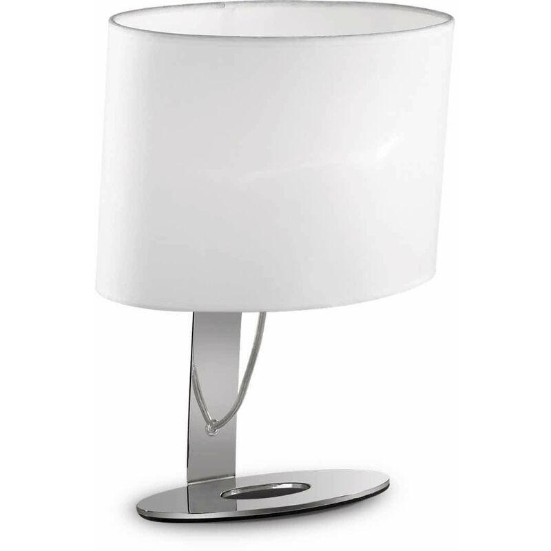 DESIREE Chrom Tischleuchte 1 Glühbirne - 01-IDEAL LUX