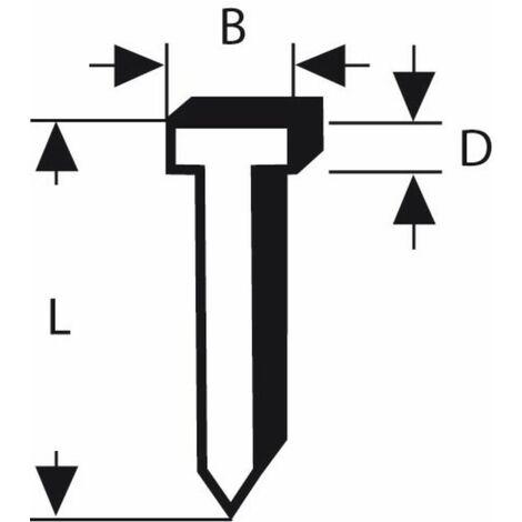Nagel Typ 48. 1.8 x 1.45 x 14 mm