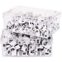 Nagelschelle grau, 7-11mmNagellänge 25mm Profi Pack a 250 Stück 4011150395331 Inhalt: 1
