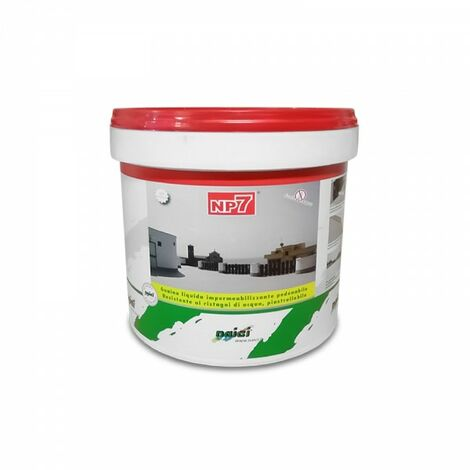 Naici guaina liquida impermeabilizzante pedonabile NP7 rossa