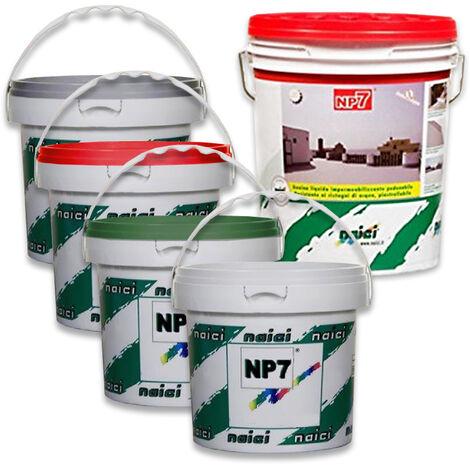 Naici guaina liquida impermeabilizzante pedonabile NP7 verde