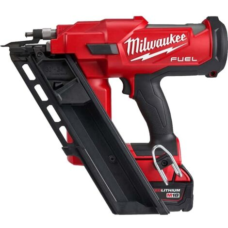 Nail gun MILWAUKEE M18 FUEL FFN-502C - 2 batteries 5.0 Ah - 1 charger - 4933471404
