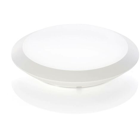 Naira LED outdoor ceiling lamp white no sensor
