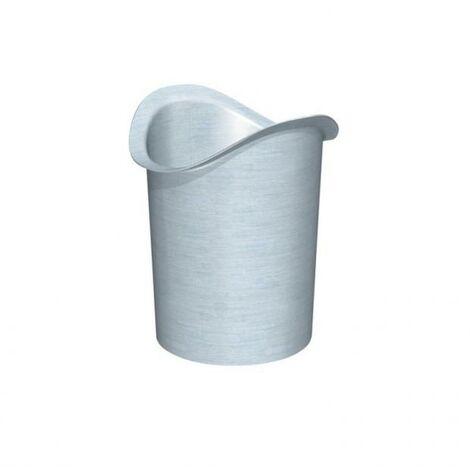 Naissance à souder Ø 80 mm zinc naturel