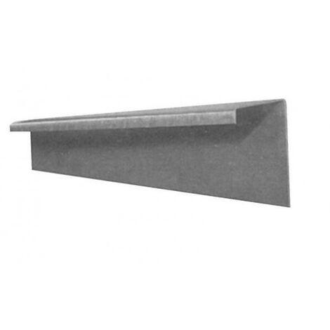 Naissance agrafable zinc Ø 100 mm pour gouttière de 33 B18