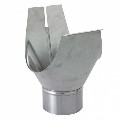 Naissance agrafable zinc - gris - dév.33cm SCOVER