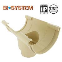 Naissance centrale BI-SYTEM PVC 16 demi-ronde
