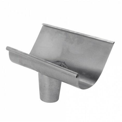 Naissance havraise centrale zinc - gris - dév.33cm SCOVER