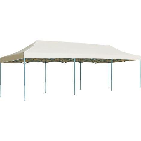 Nalani 3m x 9m Steel Pop-Up Party Tent by Dakota Fields - Cream