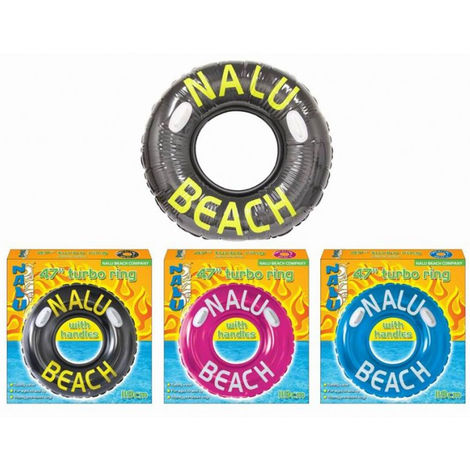 "Nalu 47"" Inflatable Turbotyre With Handles (One supplied)"