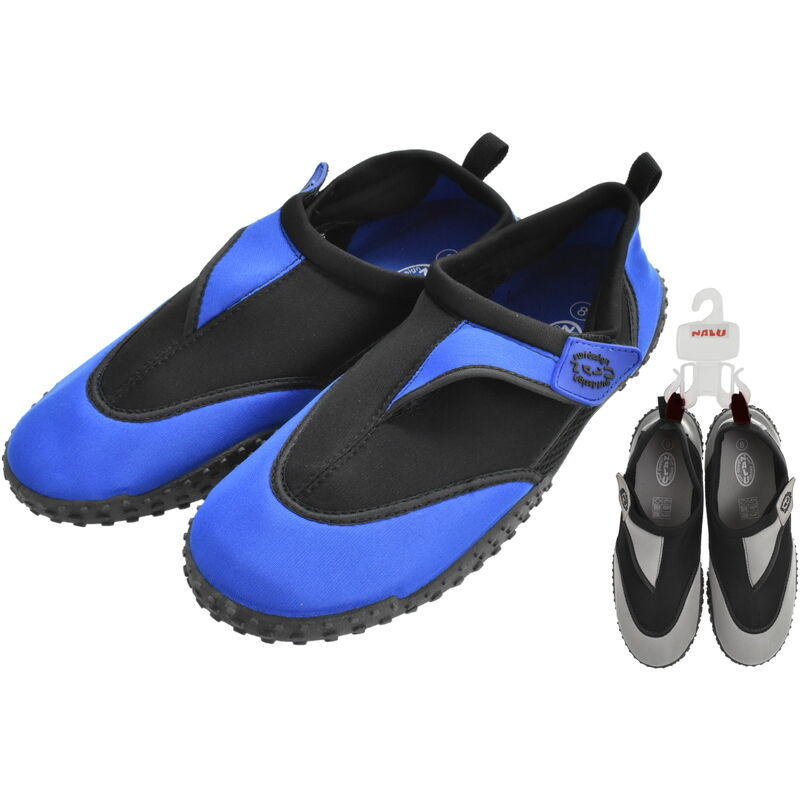 Image of Nalu Aqua Shoes Size 10 Adults - 1 Pair Assorted Colours - HOWLEYS