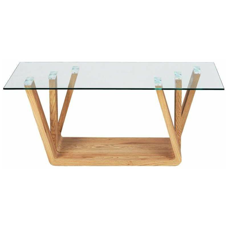 Nani Tavolino con piano in vetro - INTER LINK