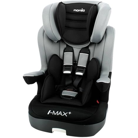 Nania Baby Car Seat LUXE I-Max SP 1+2+3 Grey and Black