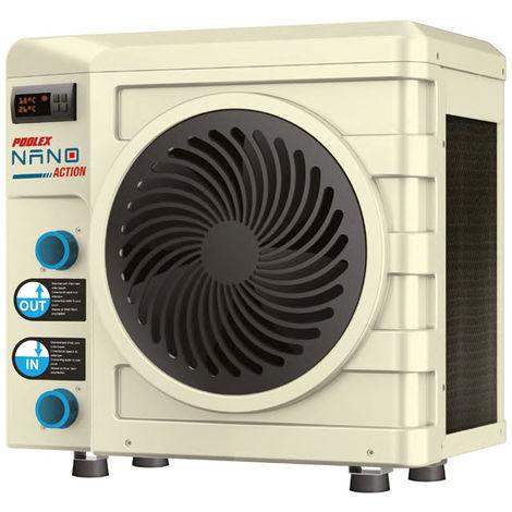 Nano Action R32 pompe à chaleur piscine Poolex