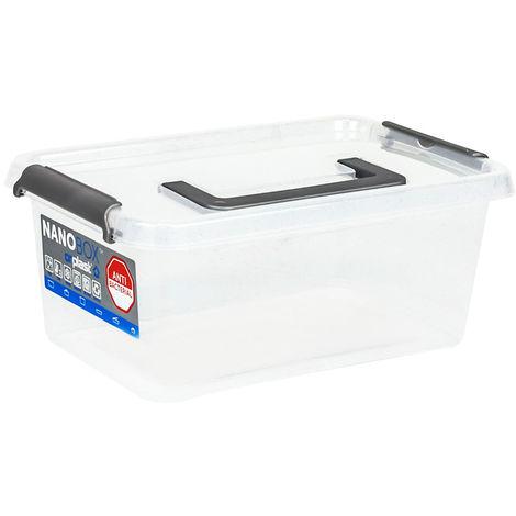 Nano-Box Aufbewahrungsbehälter Antibakteriell 4,5-30 Liter