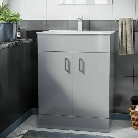 Nanuya 600mm Basin Floor Standing Vanity Unit
