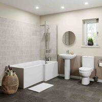Naples L Bathroom Suite - Right Hand