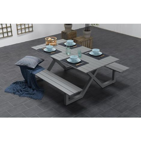 Naples Picnic Table & Bench Set