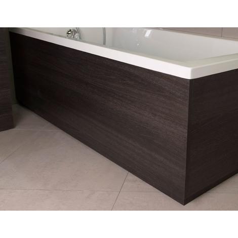 Napoli Black Oak 1800mm Front Bath Panel