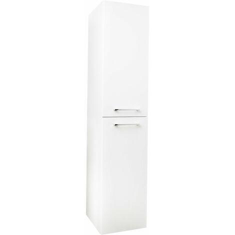 Napoli Gloss White 2 Door 350 Tall Unit