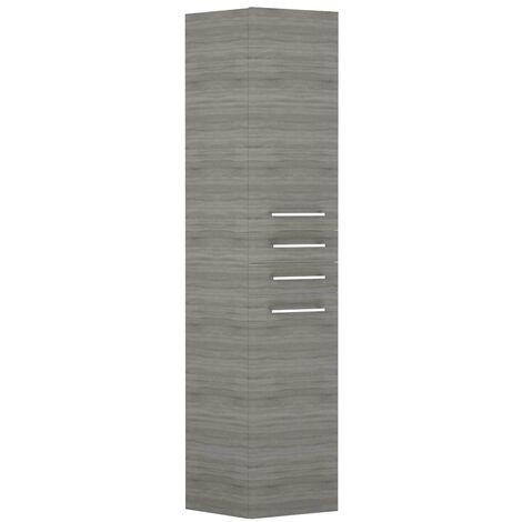 Napoli Molina Ash 2 Door & 2 Drawer Tall Unit