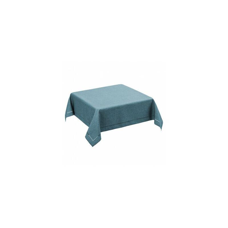 Nappe Carrée Bleu Clair - 150x150cm - Bleu